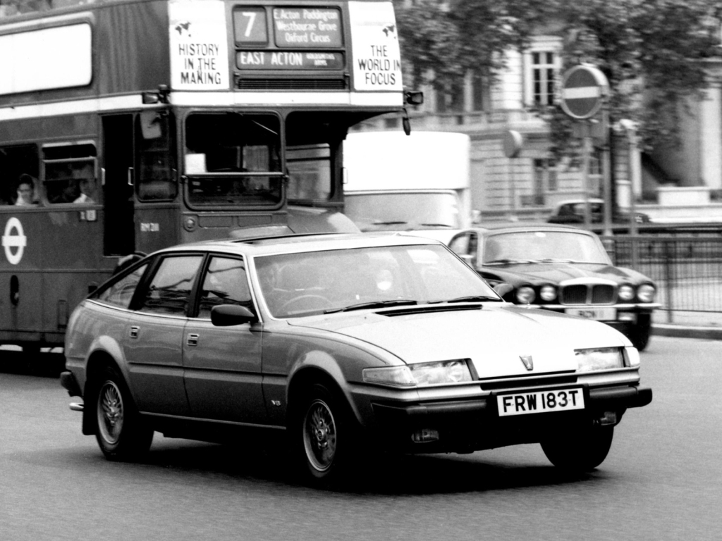 Blog : Raise a glass to... 40 years of the Rover SD1 - Part Two